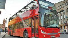 Как поехать на экскурсию на двухэтажном автобусе в Москве