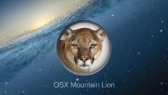Как установить новую систему Mountain Lion