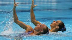 Летние олимпийские виды спорта: синхронное плавание