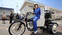 Как работает японский мотоцикл-унитаз