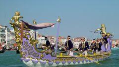 Как проходит регата в Венеции