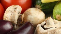 Как приготовить грибы с баклажанами