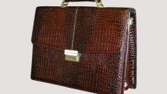 Как выбрать кожаный портфель