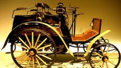 Кто сконструировал первый автомобиль