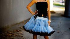 С чем носить американские пышные юбки?