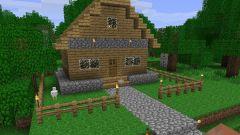 Как сделать дом в minecraft