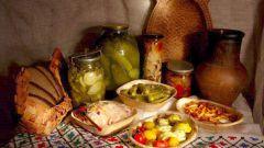 Кулинарные традиции в великий пост