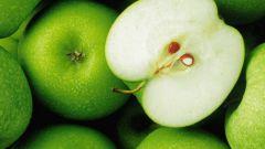 Полезные свойства зеленых яблок