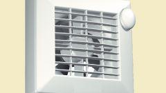 Вытяжной вентилятор на кухне