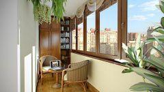 Оформление интерьера балконов