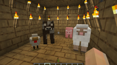 How to make a animal farm in minecraft