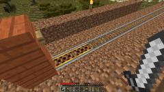 Как сделать электрические рельсы в minecraft