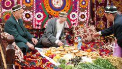 Как встречают гостей казахи