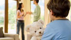 Как делятся дети при разводе