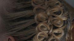 Как из банта сделать косу