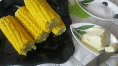 How to cook corn in a saucepan