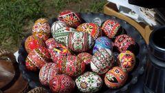 Как варить яйца на Пасху