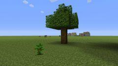 Как вырастить дерево в Minecraft