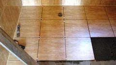 Укладка напольной плитки своими руками
