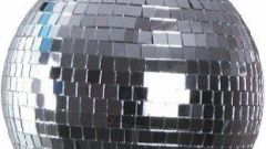 Как сделать зеркальный шар из дисков