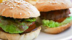 Как приготовить домашние гамбургеры