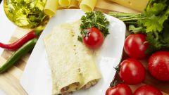 Итальянские трубочки к завтраку – быстро, вкусно и полезно