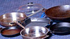 Как отчистить грязную сковороду