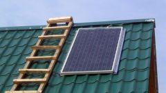 Как самому сделать солнечную батарею