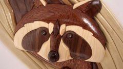 Интарсия - древнее искусство мозаики по дереву