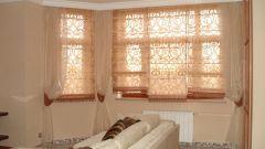 Римские шторы в интерьере