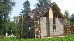 Этапы строительства домов из пеноблока в 2017 году