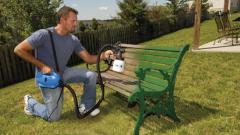 Современная альтернатива краскораспылителю - электрический краскопульт