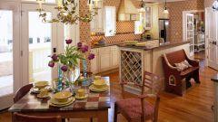 Кухня в стиле кантри - тепло и уют деревенского дома