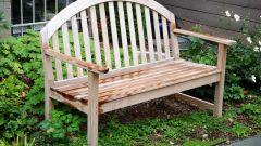 Скамейки и лавочки для дачного участка: делаем сами