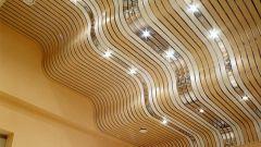 Реечные потолки: способы монтажа
