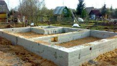 Как самому построить фундамент