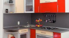 Создание интерьера маленькой угловой кухни