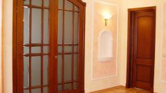 Двухстворчатые межкомнатные двери: секреты их установки