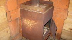 Самодельная печь для дачи