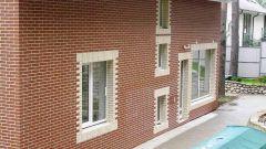 Фасадная отделка загородных домов, коттеджей