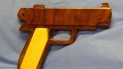 How to make a toy gun out of wood