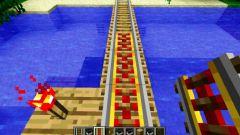 Как сделать рельсы в Майнкрафт