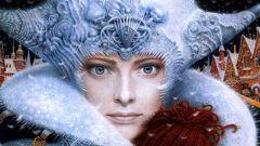Как нарисовать Снежную королеву