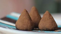 Как сделать конфеты трюфели