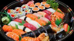 Как готовить суши с угрем