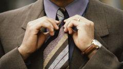 Как завязывать узел галстука