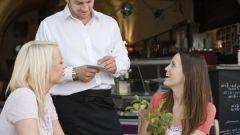 Как работать официантом