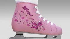 Как научить детей кататься на коньках