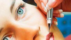 Как наносить татуаж