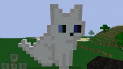 Как приручить кошку в minecraft
